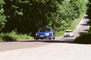 To wyglądało jak zlot fanów WRC