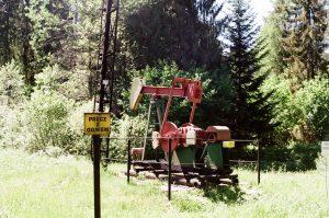 W Bieszczadach nadal wydobywa się ropę naftową. Stąd też pochodzi Ignacy Łukasiewicz, wynalazca lampy naftowej.