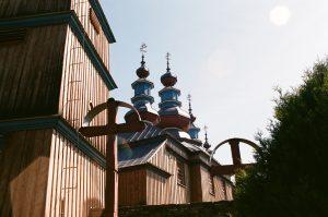 Cerkwie są dość częstym widokiem w Bieszczadach