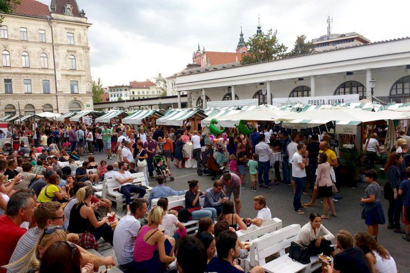 Festiwal kuchni w Ljubjanie