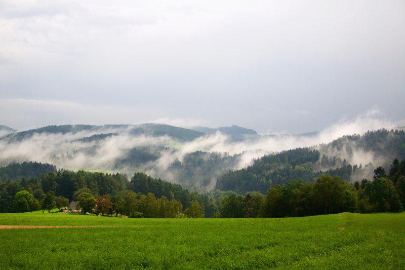 Austria w moim przypadku była pogodową loterią