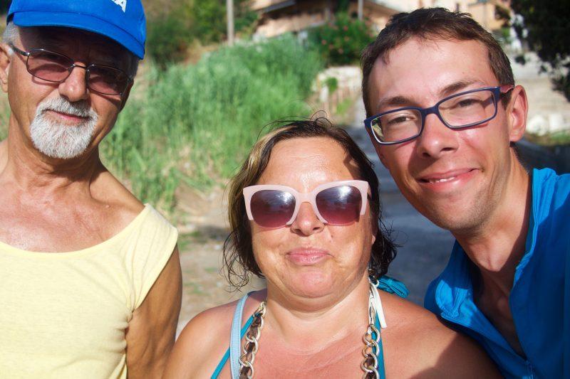 Franco, Ania i ja