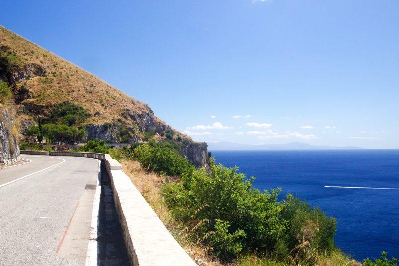 Dla takich widoków warto było jechać (Sorento - Positano - Salerno)
