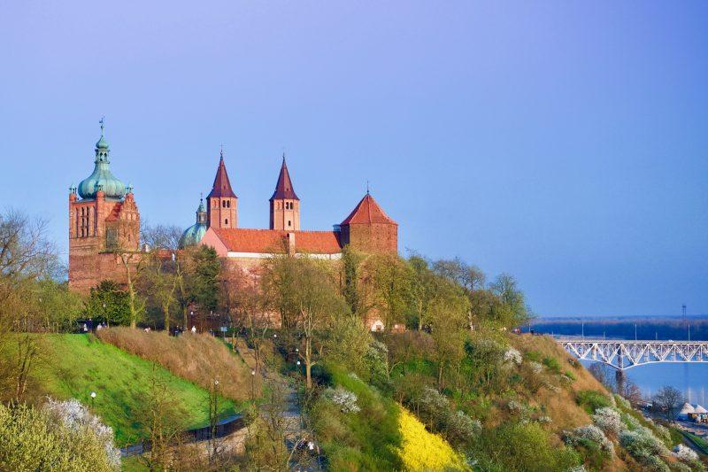 Płock - widok na katedrę