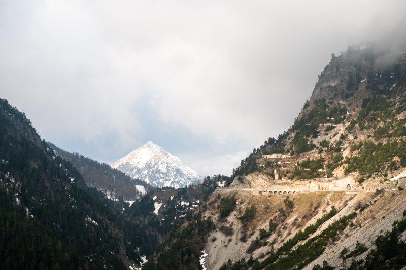 Zdjęcie robione we Włoszech, ale szczyt na pewno francuski