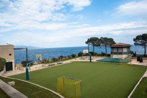 Zwykłe boisko w Monako
