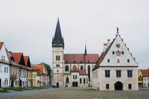 Rynek miasteczka Bardejov