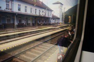 Niektóre słowackie perony są wyjątkowo wąskie